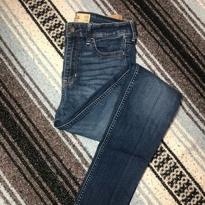 Hollister Super High Rise Skinny Jeans